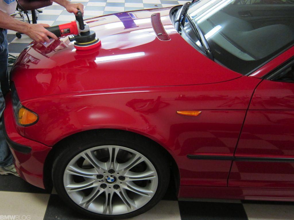Masina dupa un polish auto