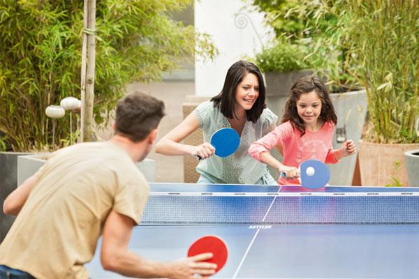 distractie cu ping pong